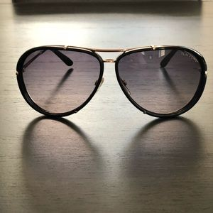 Tom Ford Cyrile Aviator Sunglasses